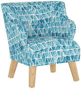 Marmalade Stella Chair - Washed Triangles Blue