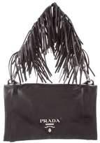 Prada Nappa Fringe Shoulder Bag
