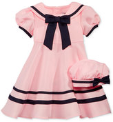 Rare Editions Cap-Sleeve Sailor Dress with Hat, Baby Girls (0-24 months)