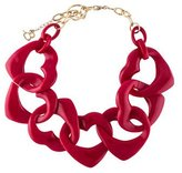 Diana Broussard Amore Heart Resin Necklace