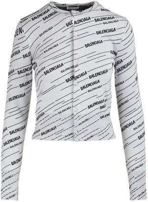 Balenciaga Long sleeved cardigan