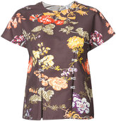 Rosie Assoulin floral button top