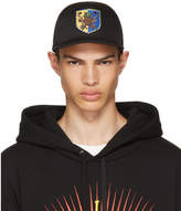 Gucci Black Crest Baseball Cap