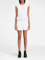 DKNY Open Back Linen Jumpsuit