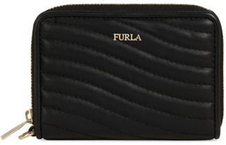 Furla Swing Zip-Around Leather Wallet