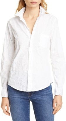 Frank And Eileen Barry Signature Crinkle Cotton Shirt
