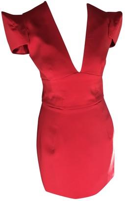 Alexandre Vauthier Red Polyester Dresses