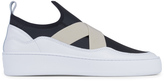 Filling Pieces Slide Bandage Sneakers