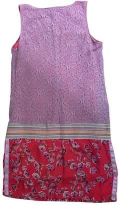 Massimo Rebecchi Pink Cotton Dress for Women