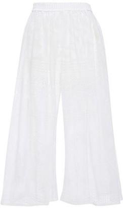 Dolce & Gabbana Crocheted Cotton-blend Culottes