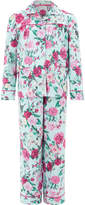 Monsoon Florencia Rose Print Flannel PJ Set