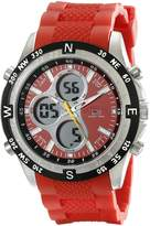 U.S. Polo Assn. Sport Men's US9136 Silicone Analog Digital Watch