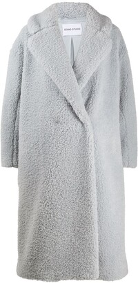Stand Studio Faux Fur Oversized Coat