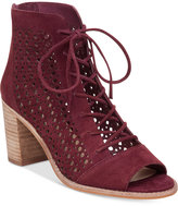 Vince Camuto Trevan Perforated Booties