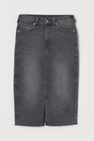 Thumbnail for your product : H&M Denim pencil skirt