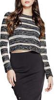GUESS Longsleeve Amara Sheer Stripe Sweater