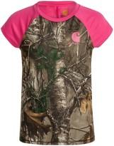 Carhartt Camo Raglan T-Shirt - Short Sleeve (For Big Girls)