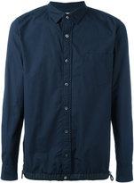 Sacai drawstring pull shirt - men - Cotton/Polyester - 2