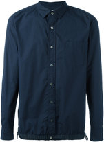 Sacai drawstring pull shirt - men - Cotton/Polyester - 4