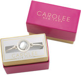 Carolee Silver-Tone The World Is Your Oyster Bracelet