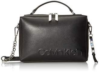 Calvin Klein Cube Smooth Vegan Leather Crossbody