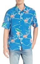Brixton Men's Lovitz Floral Woven Shirt