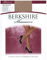 Berkshire Women's Plus-Size Queen Shimmers Ultra Sheer Control Top Pantyhose 4412