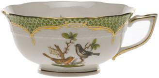 Herend Rothschild Bird Green Motif 05 Tea Cup