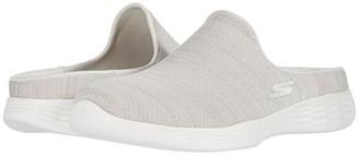 Skechers Performance You Refine (Natural) Women's Clog/Mule Shoes
