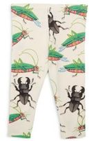 Mini Rodini Baby's Insects-Print Leggings