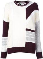Kenzo patchwork jumper