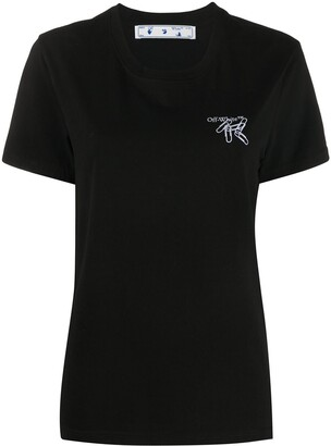 Off-White paper clip Arrows motif T-shirt