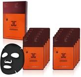 JayJun Korean Beauty Real Water Anti-Aging 3-Step Glowing Complexion Black Mask 10-Piece Set