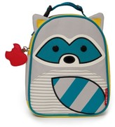 Skip Hop Toddler 'Zoo Lunchie - Raccoon' Insulated Lunch Bag - Grey