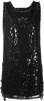 No.21 sequin sleeveless dress - women - Silk/Cotton/Polyamide/Polyester - 40