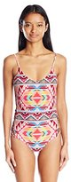 Billabong Women's Tribe Time One Piece Swimsuit