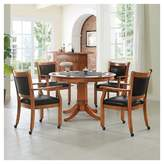 Crosley Reynolds 5pc Game Table Set - Espresso Brown