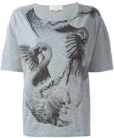 Stella McCartney swan print T-shirt