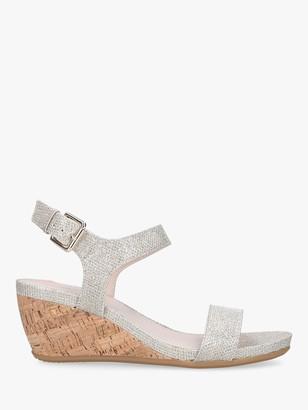 Carvela Sparkle Wedge Heel Sandals