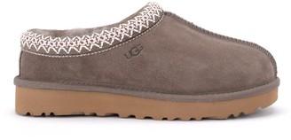 UGG Tasman Slipper In Brown Suede Leather