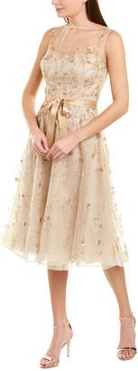Teri Jon By Rickie Freeman A-Line Dress