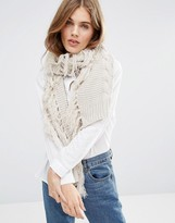 Pieces petina Knitted Scarf