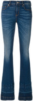 Love Moschino faded bootcut jeans