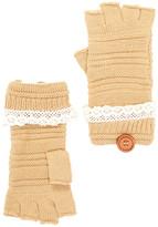 Rampage Fingerless Crochet Gloves