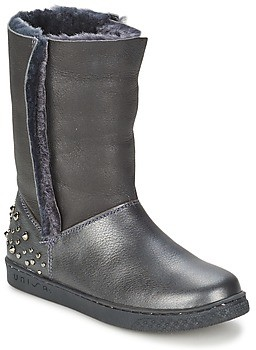 Unisa NILL girls's Mid Boots in Black