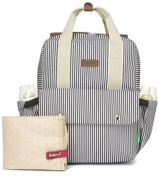 Babymel Georgi ECO Convertible Diaper Bag Backpack in Stripe Navy