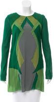 Proenza Schouler Long Sleeve Silk Tunic