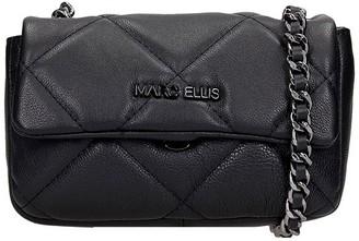 Marc Ellis Madelyn S Shoulder Bag In Black Leather