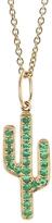 Sydney Evan Cactus Charm Necklace
