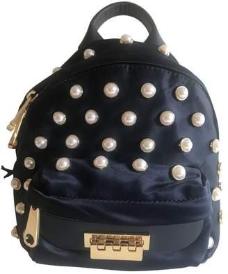 Zac Posen Navy Synthetic Backpacks